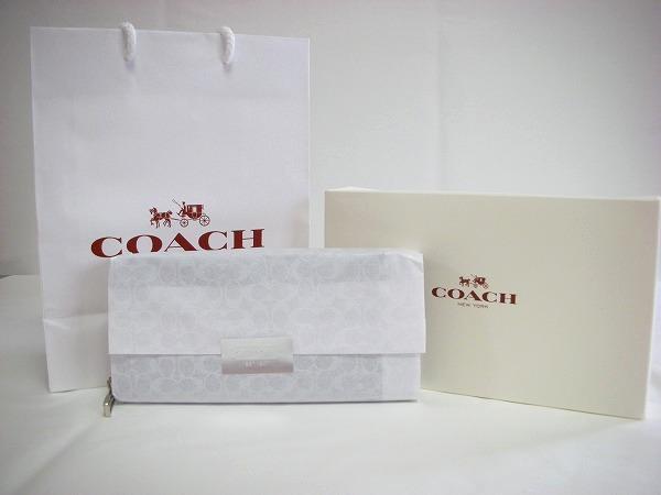 コーチ メンズアウトレット財布と箱