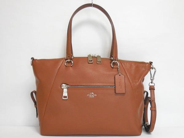 コーチ レディース ハンドバッグ36560茶色