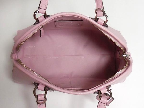 コーチ ミニハンドバッグ35650ピンク 荷室