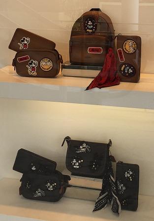 ディズニー×コーチ ミッキーマウス パッチワーク商品